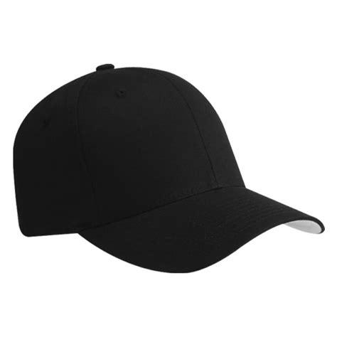 baseball hat black plain flexfit fitted baseball cap hat black l xl