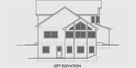 sloping lot house plans side sloping lot house plans 4 bedroom house plans house