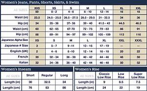 American Eagle Size Chart Mens Sizing Chart Choisir L 39 Atelier