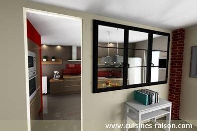 agencement cuisine ouverte une cuisine avec verrière l 39 atout charme d 39 une cuisine