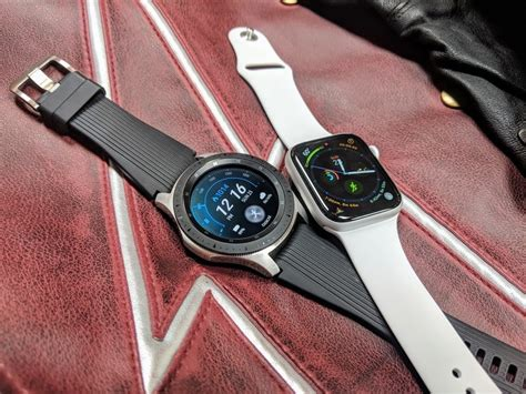 46mm $463 cad ($370) samsung galaxy watch 4 specs and features. Samsung Galaxy Watch vs. Apple Watch Series 4: Which ...