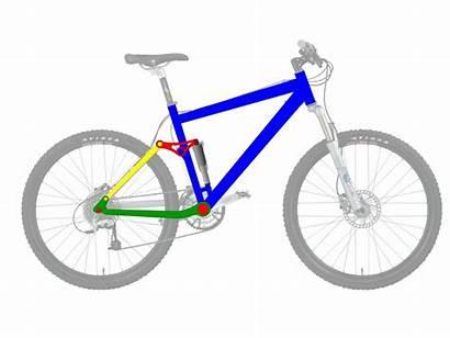 Suspension Bicycle Pivot Single Linkage Four Rear