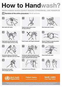 Hand Hygiene Basics From The Cdc  Poster