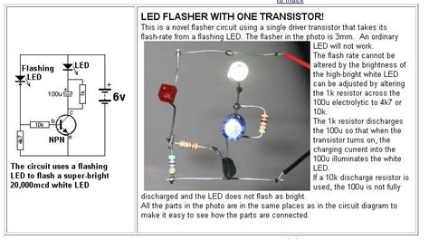 Simple Transistor Circuits Free Ebook Electronics