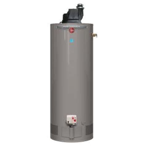 Rheem Performance 40 Gal Tall 6year 36,000 Btu Power