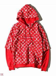 Supreme & Louis Vuitton LV Hoodies For Men #516711 $35.50 ...