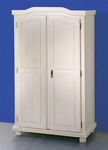 Armoire A Vetement : armoire v tements hedda pin massif blanc sb meubles discount ~ Teatrodelosmanantiales.com Idées de Décoration