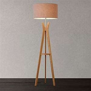 lighting interiors and shopping hunkydory home blog With wooden tripod floor lamp john lewis