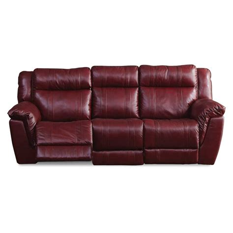 Leather Dual Reclining Loveseat With Console by K Motion 89 Quot Leather Match Dual Reclining Sofa