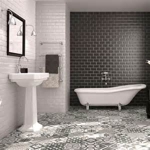 ideas for bathroom floors for small bathrooms low cost high impact make a statement walls and floors