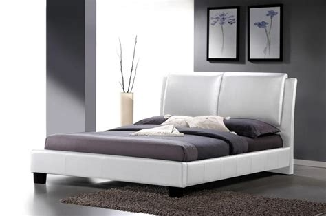 White King Headboard Canada by Modern White Faux Leather Upholstered Headboard Or