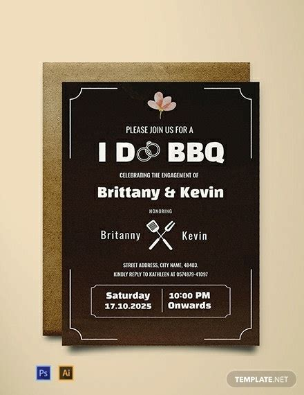 49+ Engagement Invitation Designs PSD AI Vector EPS