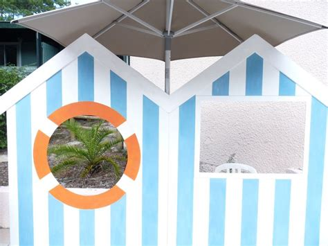 photobooth cabine de plage blanche bleue th 232 me mer plage mariage search