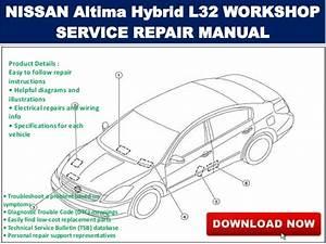 2008 Nissan Altima Coupe L32 A Maintenance Schedules