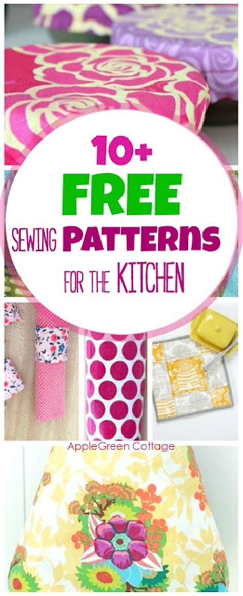 10  Handy And Free Sewing Patterns for the Kitchen
