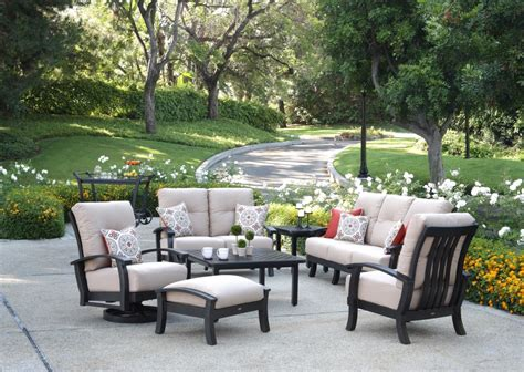 Outdoor Living Furniture by Mallin St George Outdoor Living Patio Furniture In