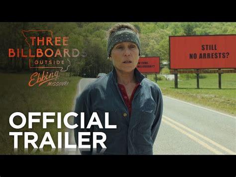 billboards  ebbing missouri red band trailer