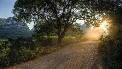 Country Road Wallpapers Desktop Backgrounds 4k Background