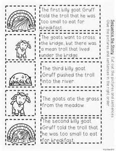 three billy goats gruff story printable polka dot firsties 3 billy goats gruff