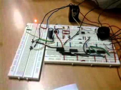 Digital Electronics Project Circuit Prevent Power