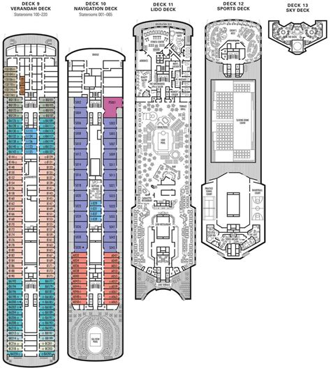 america ms westerdam deck plan clubtravel cruises ms statendam