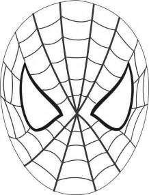 HD wallpapers spider man mask cut out template
