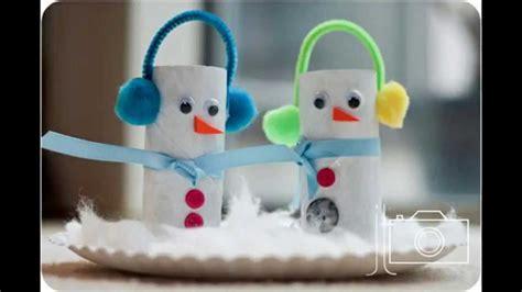 kids winter crafts ideas youtube