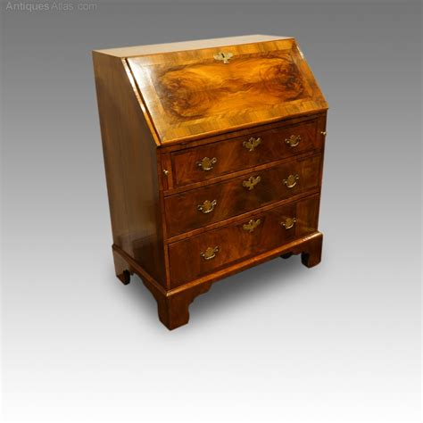 vintage bureau antique walnut bureau antiques atlas