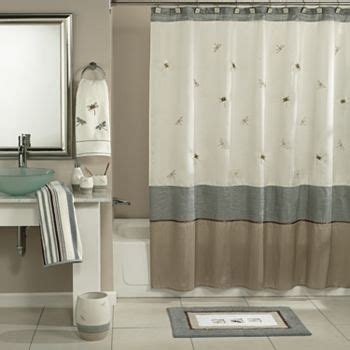 home classics shalimar dragonfly shower curtain
