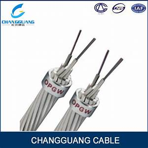 China Opgw Ground Wire And Cable Stranded Acs Tube Fiber