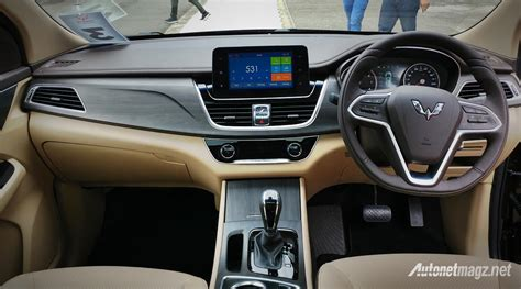 Wuling Cortez Hd Picture by Wuling Cortez 2018 Dashboard Autonetmagz Review Mobil