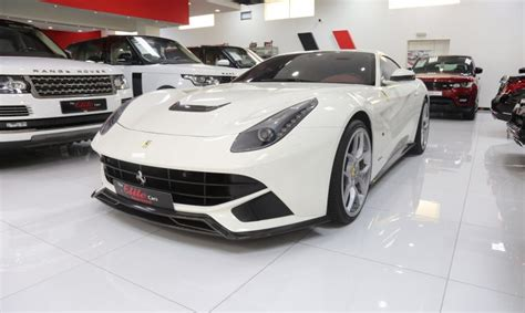 Budapest, hungary number/licence plate : Ferrari F12 Berlinetta for Sale in Dubai, AED 599,000 , White,Sold