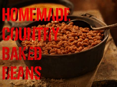Homemade Country Style Baked Beans Youtube