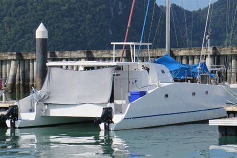 Catamarans For Sale Malaysia by Used Power Catamaran Boats For Sale In Malaysia Boats