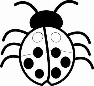 Ladybug Clipart Black And White | Clipart Panda - Free ...
