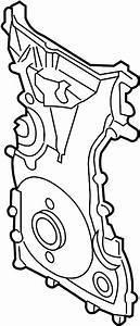 Mazda 6 Engine Timing Cover  Front   Mazda6  W  O