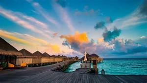 maldives beautiful beach hd wallpaper