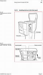 Skidata Enex400 Parking Column Using Rfid User Manual