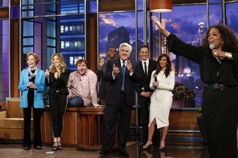 Jay Leno Signs Off From The Tonight Show With A Tearful