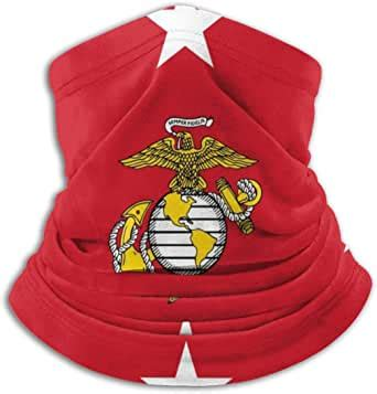Flag Of The US Marine Corps Command Neck Gaiter Face Scarf