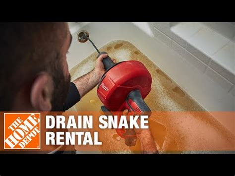home depot tool rental center power drain cleaners