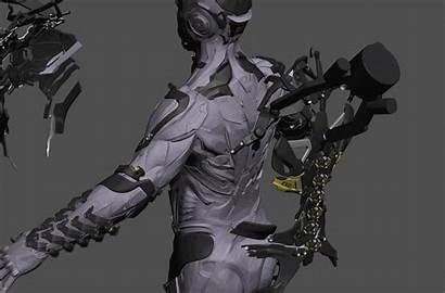 Exosuit Sol Project Iron Armor Lv Concept