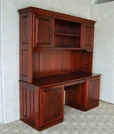 cherry desk  hutch de vries woodcrafters