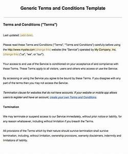 terms and conditions template cyberuse With terms and conditions template usa