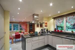 Spot Plafond Salon : photos plafond tendu particulier cuisine ~ Edinachiropracticcenter.com Idées de Décoration