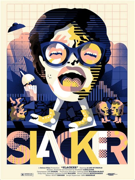 mondo unleashes richard linklater posters