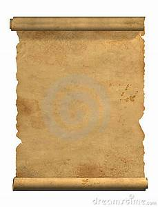 Scroll Of Old Parchment Stock Photos - Image: 5536933