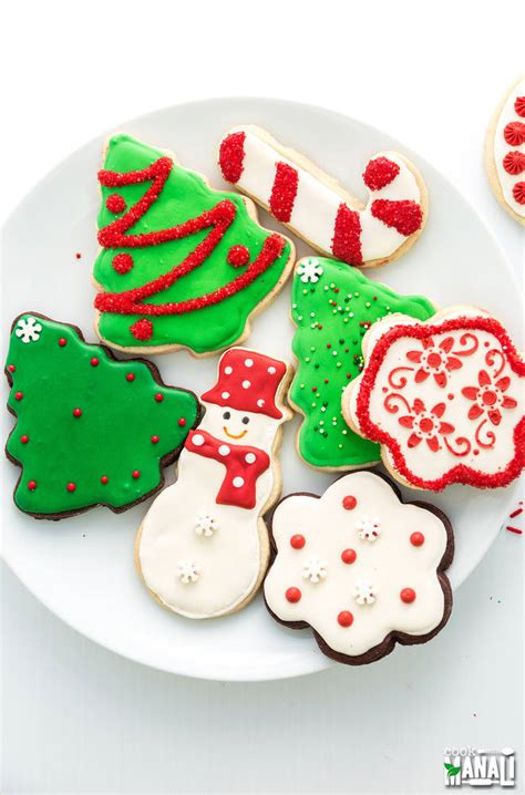 christmas sugar cookies cook  manali