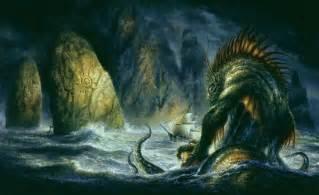 El Espejo Gótico: Dagón: demonio y panadero de H.P. Lovecraft