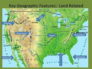 2d Geographic Features